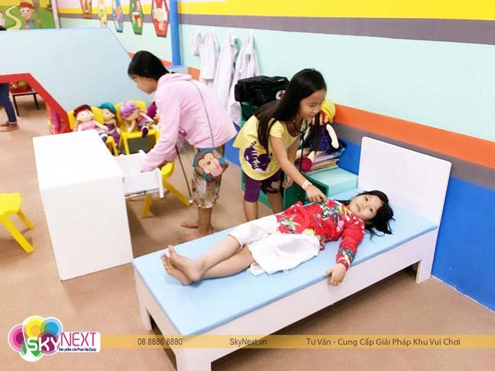 Khu vui chơi trẻ em tích hợp phát triển các kỹ năng cho trẻ