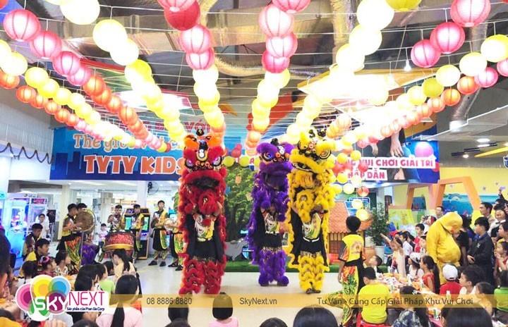 Lễ hội trung thu tại Tyty Kids Gia Lai