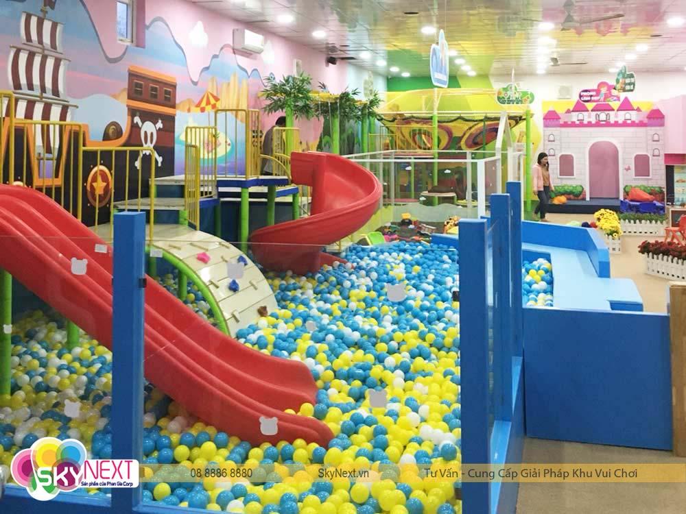 Một góc khu vui chơi trẻ em PIT POK Hà Tĩnh