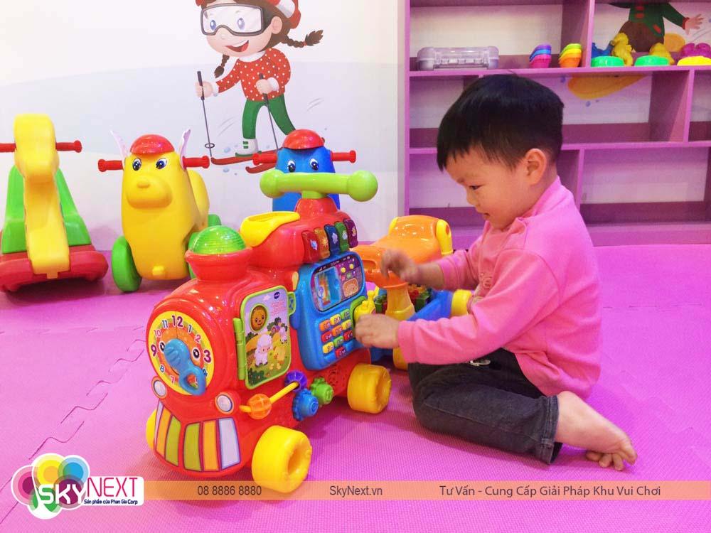 Phòng baby trong khu vui chơi bé bé club