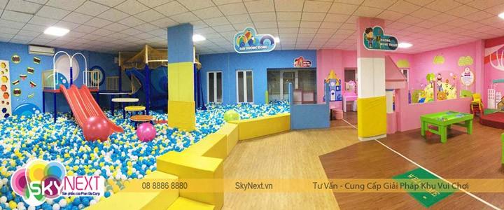 SkyNext chuyên lắp đặt khu vui chơi dành cho trẻ em