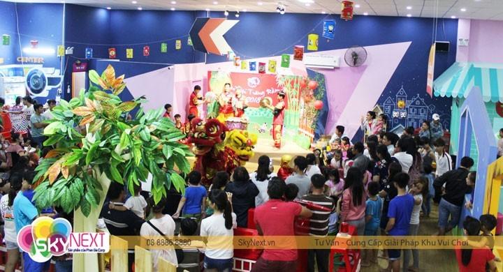 Sự kiện được tổ chức trong khu vui chơi