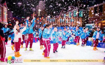 Khu Vui Chơi Tuyết Snow Town – Trải Nghiệm Mùa Đông Giữa Lòng Sài Gòn