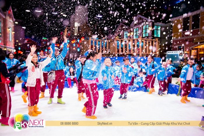 Thành phố tuyết Snow Town Sài Gòn