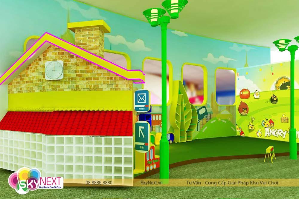 Trang trí khu nghệ thuật trong TiniWorld Quận 7
