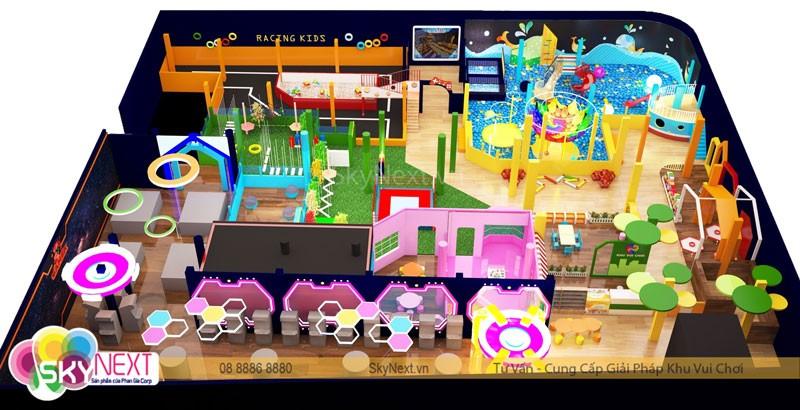 3D thiết kế khu vui chơi Nam Định