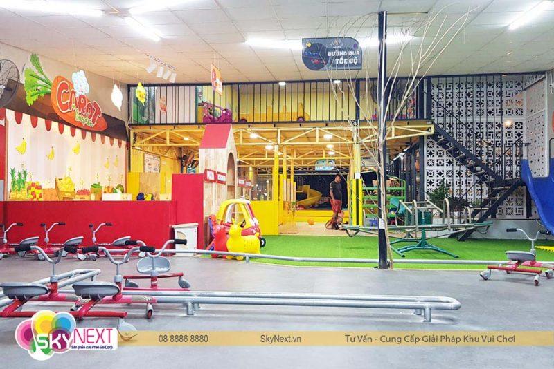 khu vui chơi dành cho trẻ em Carot Garden Đồng Xoài