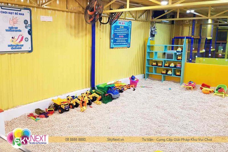 Hồ hạt gỗ thân thiện cho bé Carot Đồng Xoài