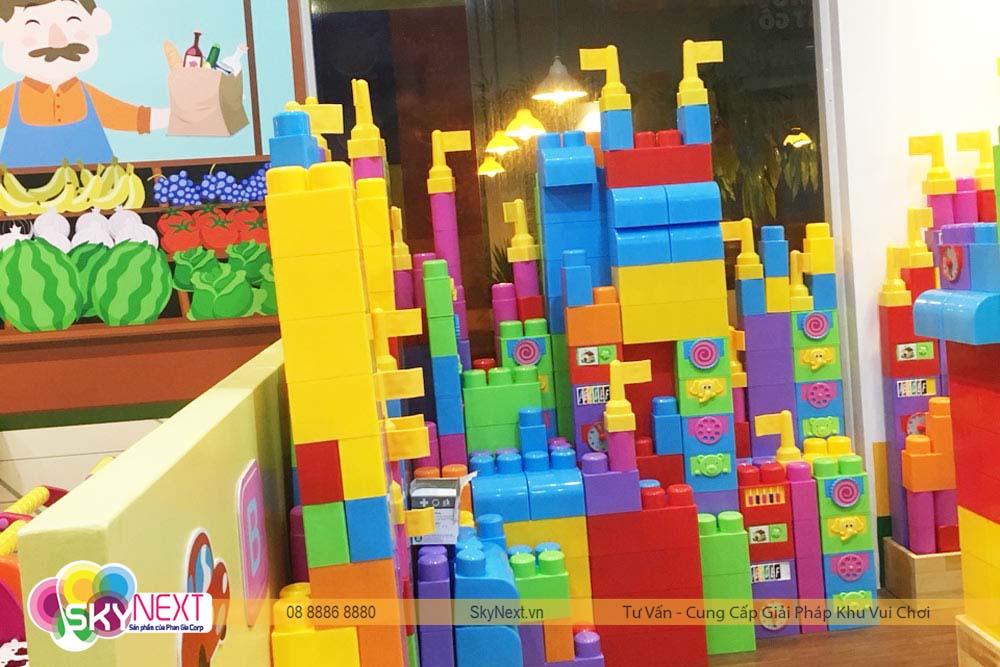 Khu chơi Block lego nhựa Like Kids