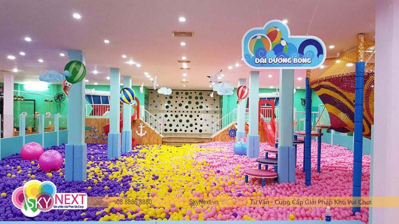 Thiết kế khu vui chơi Suping Kids