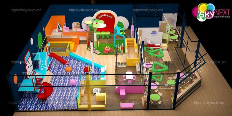 Thiết kế khu vui chơi New World Huế