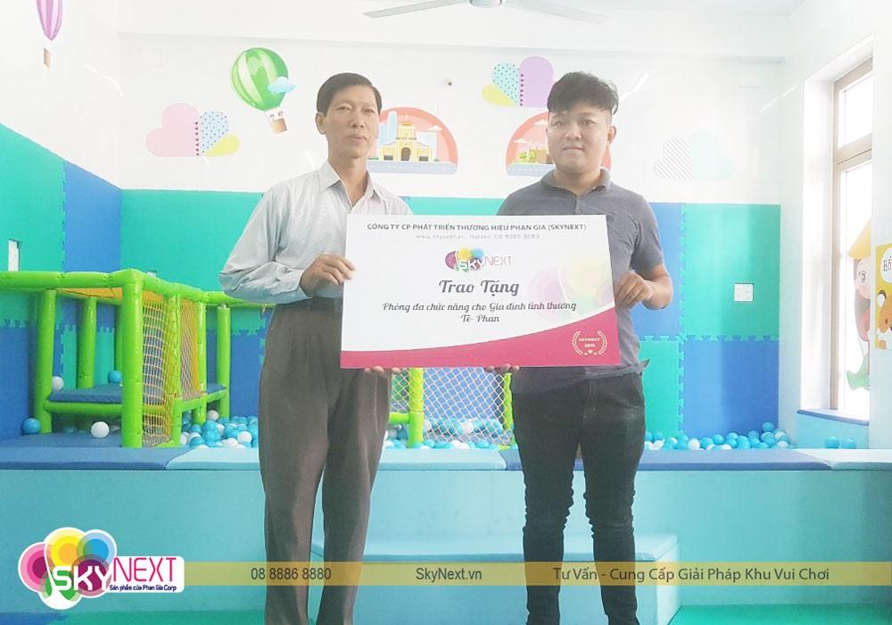 SkyNext trao tặng phòng đa chức năng cho nhà tình thương Tê Phan