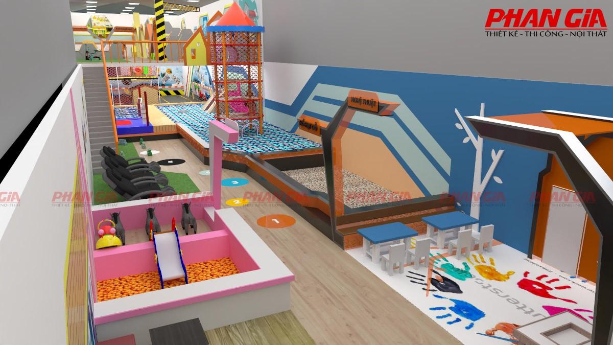 Kids City Hậu Giang phối cảnh thiết kế 3D