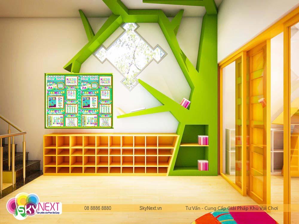 Thiết kế phòng học Canary quận 6
