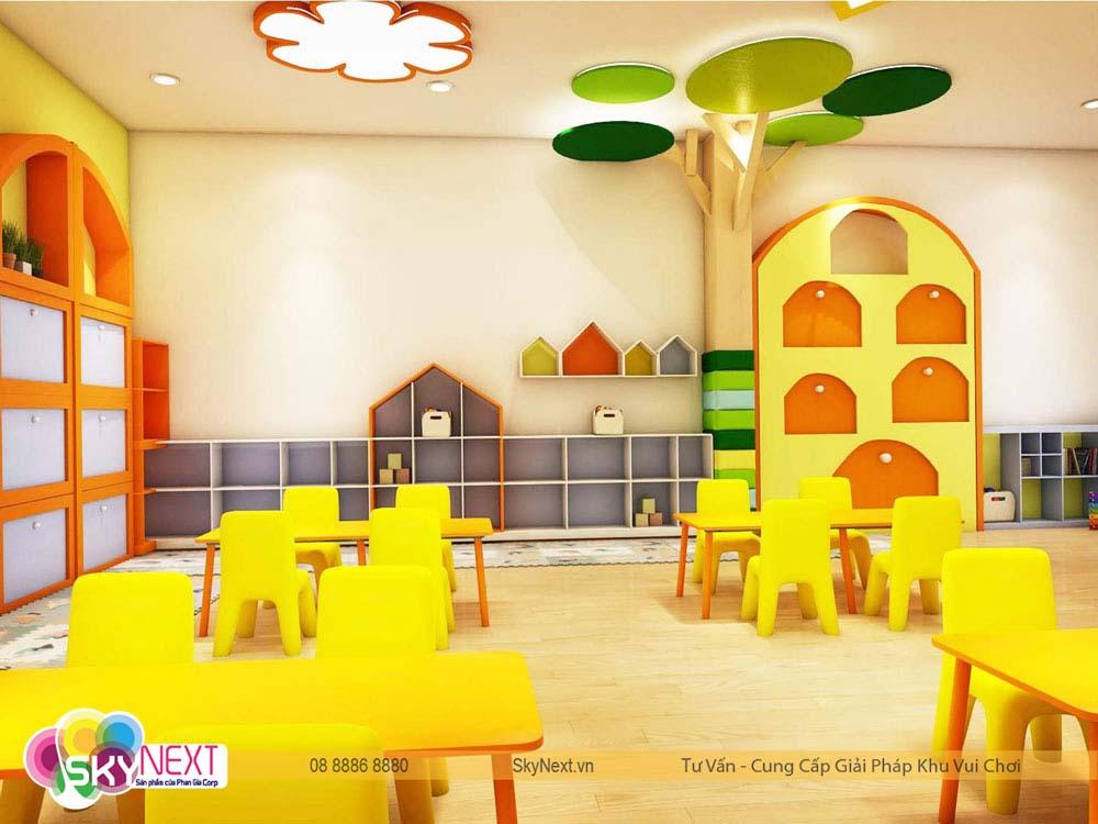 Thiết kế phòng học Canary quận 6 hình 2