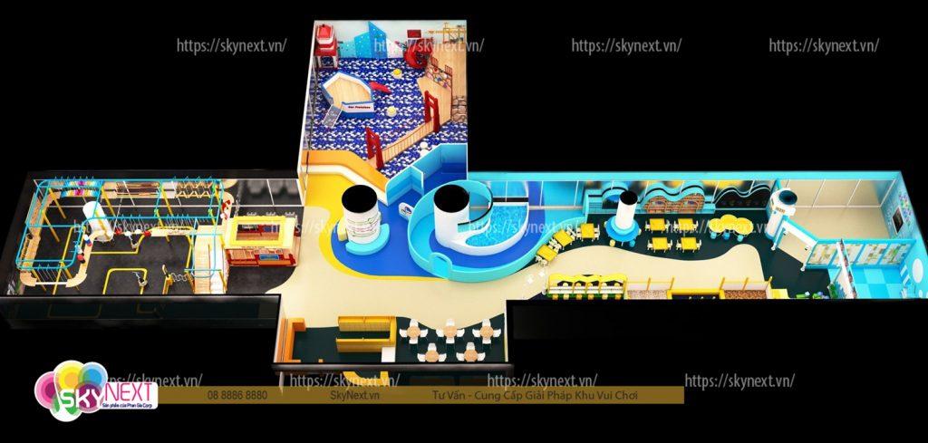 3D khu vui chơi Mr Haahoo Hà Nội