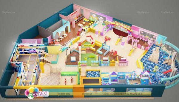Khu vui chơi Kids World Thanh Hóa 900m2