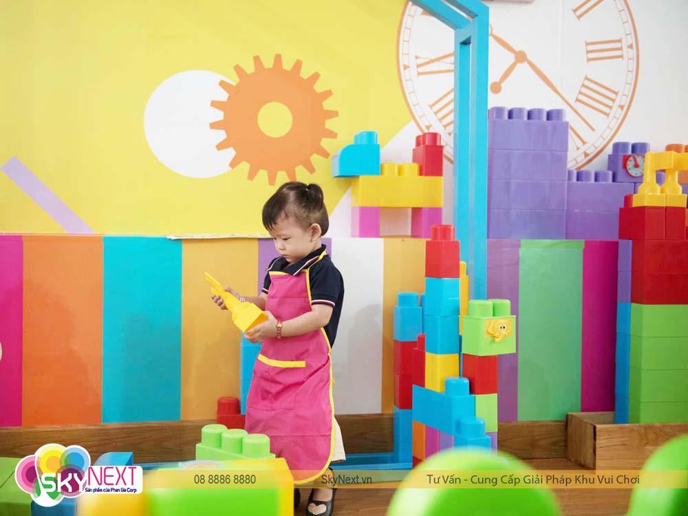 Khu Block lắp ghép ở Bình Phước Baby Club