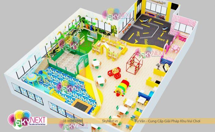 Phối cảnh 3D khu vui chơi Bửu Long