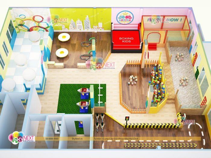 thiết kế khu vui chơi Papa4Me