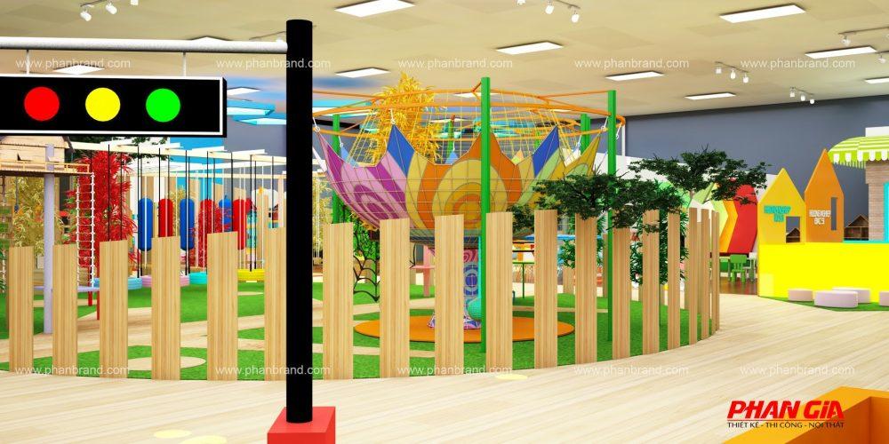 Mẫu thiết kế khu vui chơi trẻ em VikiTown Củ chi hình 8
