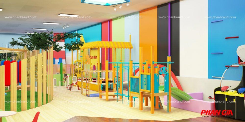 Mẫu thiết kế khu vui chơi trẻ em VikiTown Củ chi hình 5
