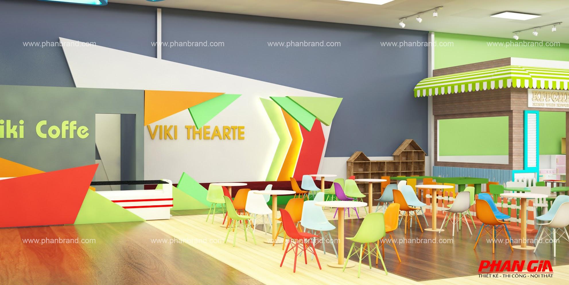 Mẫu thiết kế khu vui chơi trẻ em VikiTown Củ chi hình 3