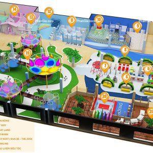 Ý tưởng thiết kế khu vui chơi Đại Nam