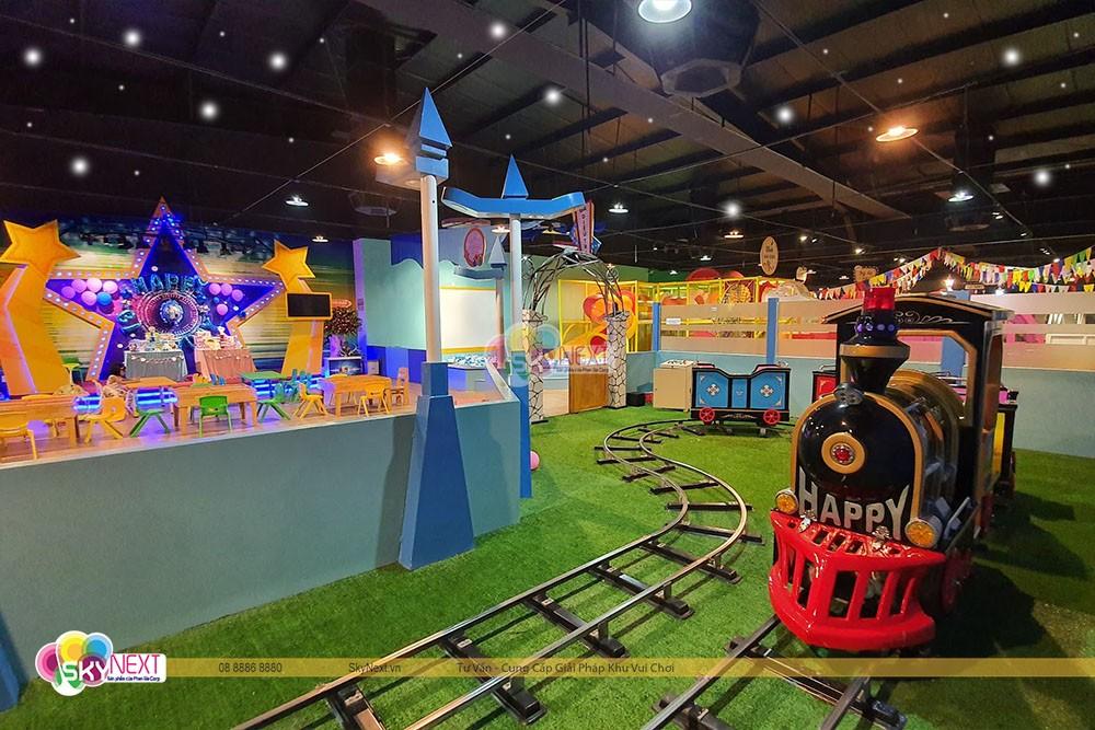 Khu trò chơi tàu lửa