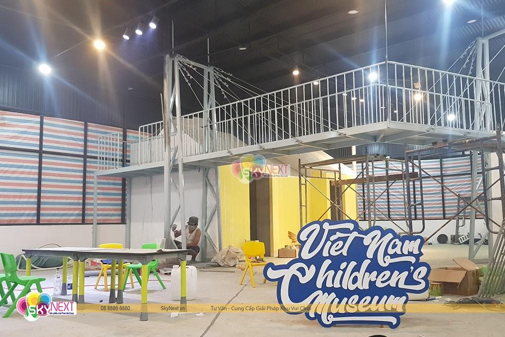Thi công bảo tàng trẻ em Việt Nam
