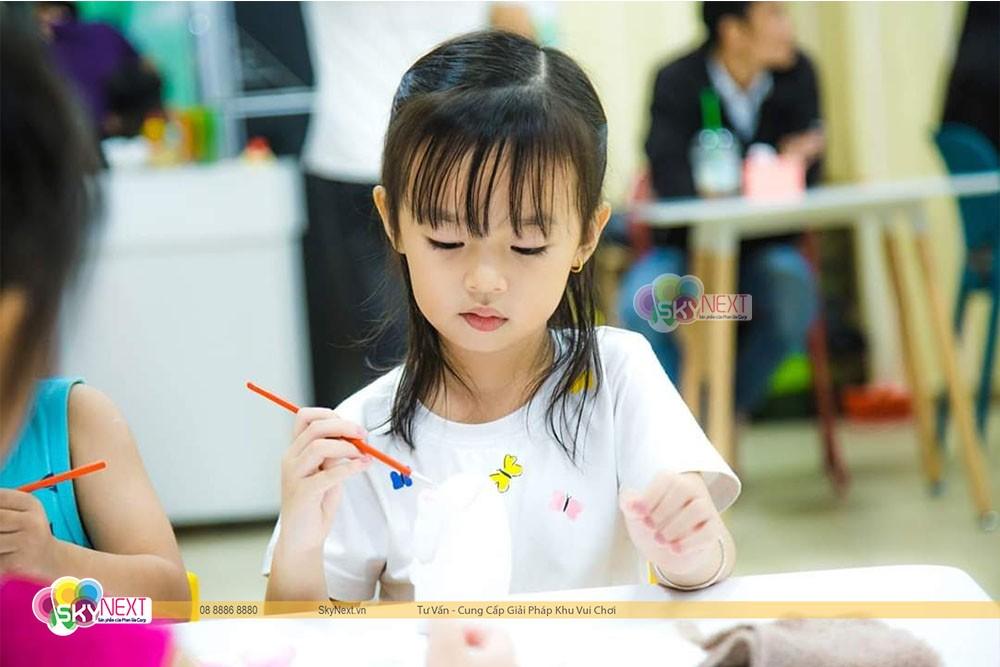 khu vui chơi trong nhà cho trẻ em Phan Thiết