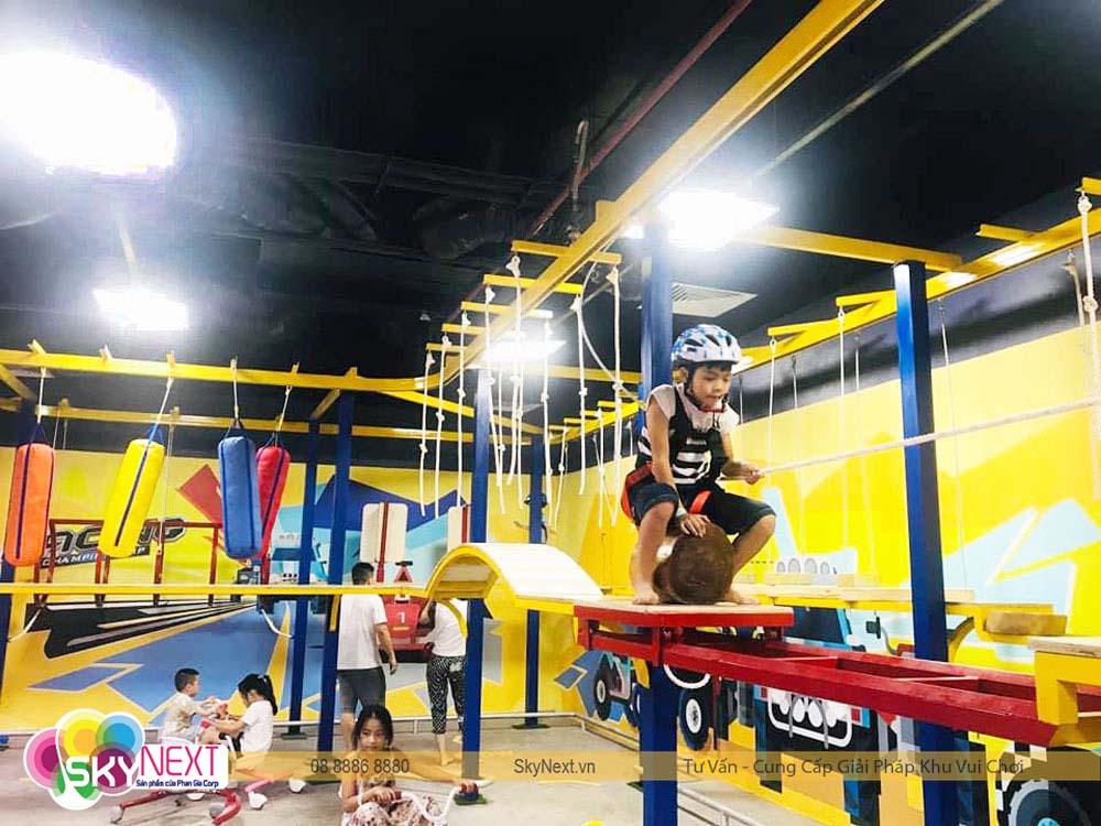 Khu vui chơi mạo hiểm trên cao Funny Kids Móng Cái