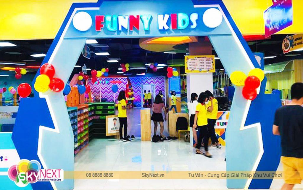 Khu vui chơi Funny Kids Vincom Móng Cái