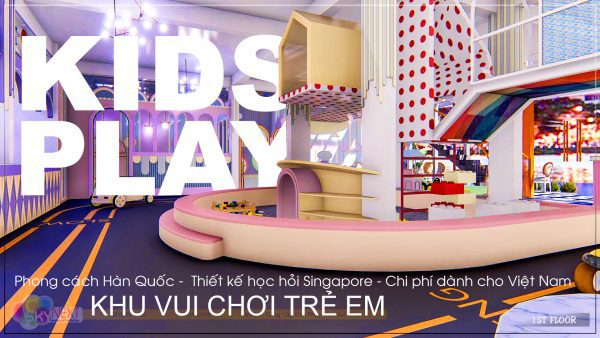 Thiết kế khu vui chơi phong cách Singapore