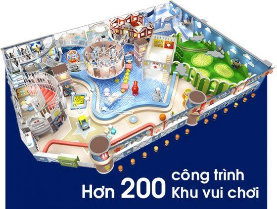 200 công trình khu vui chơi được thi công
