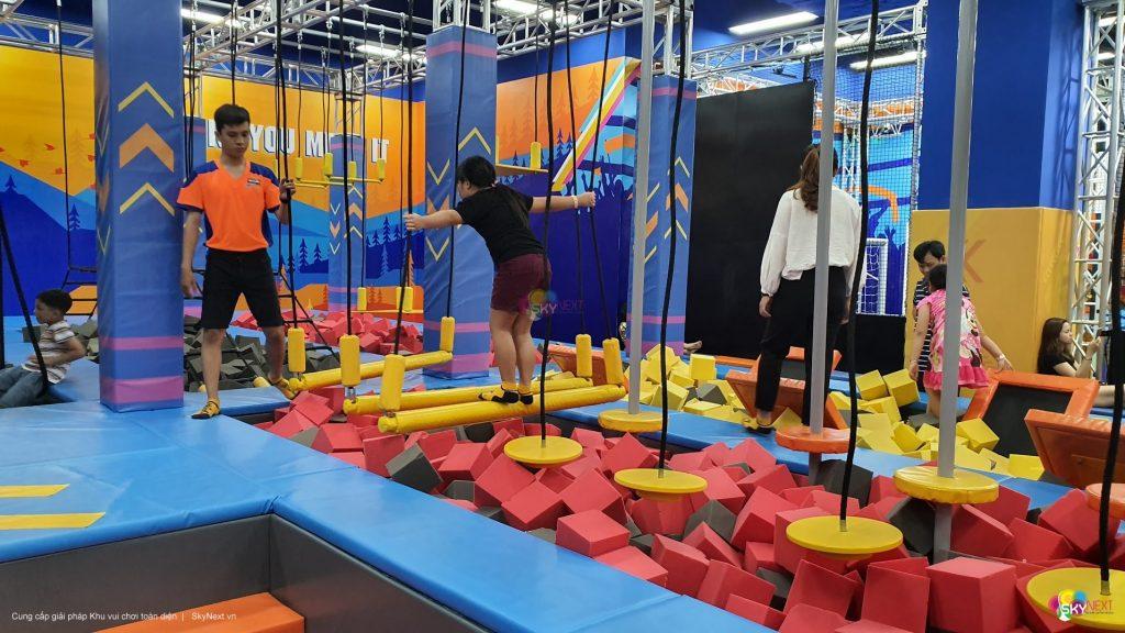 Khu vận động Ninja Course Việt Nam hình 1