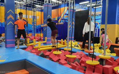 Khu vui chơi vận động Ninja Course xu hướng mới dành cho giới trẻ