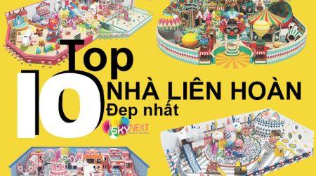 Top 10 nhà liên hoàn đẹp nhất 2020