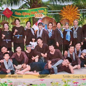 teambuilding 2020 tại khu du lịch Lan Vương - Bến Tre