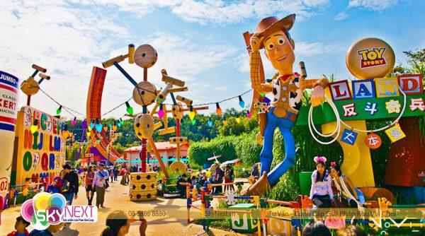 Cong vien Disneyland hong kong 3