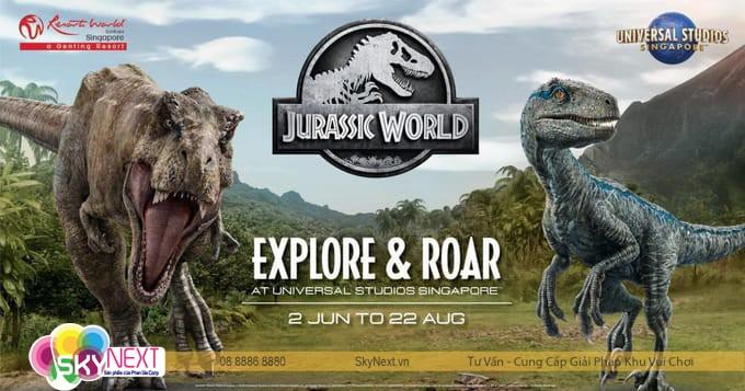 Công viên khủng long Singapore hình 5