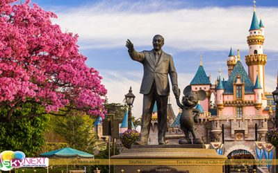 Review Disneyland California – Mỹ
