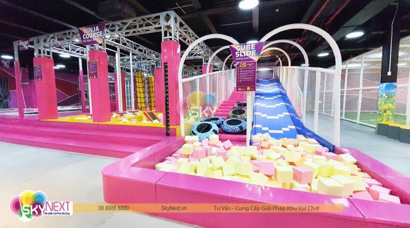 Khu vận động Trampoline C'Game cho mọi lứa tuổi ở Huế