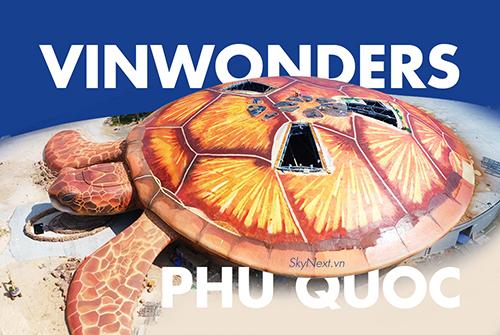 Mô hình rùa khổng lồ tại Phú Quốc
