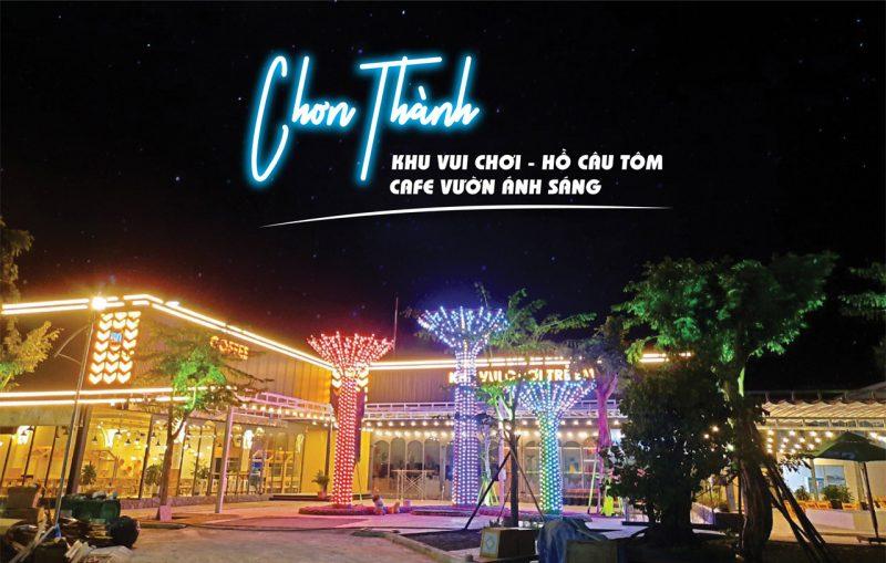 Khu vui chơi đẳng cấp tại Chơn Thành Bình Phước