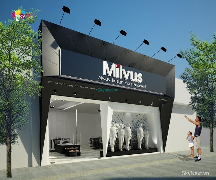 Shop thoi trang milvus 3