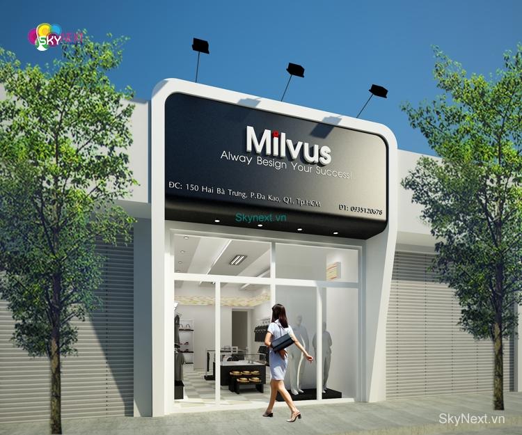Shop thoi trang milvus 5