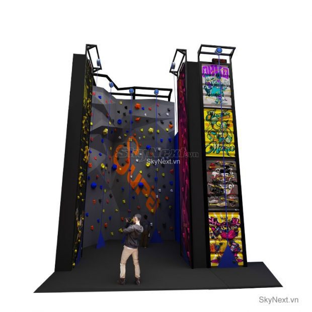 Leo nui trong nha rock climbing indoor 004