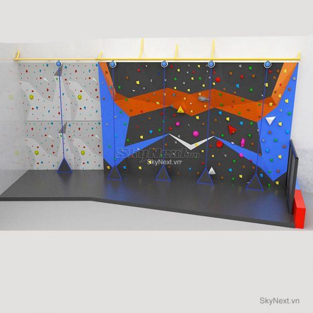 Leo nui trong nha rock climbing indoor 027
