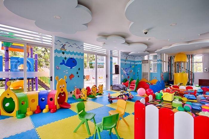 SkyNext thiết kế mô hình khu vui chơi cho bé dưới 1 tuổi